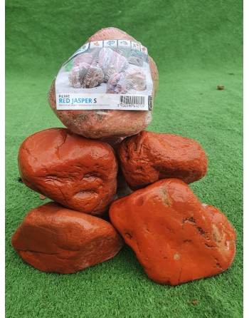 Red Jasper Rock 5 to 6 pieces 10 kg