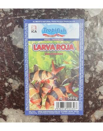 Larva de mosquito roja tableta de 500 gramos