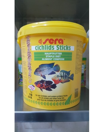 Sera Cichlids sticks 2 Kilos