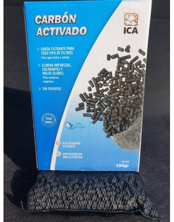 Carbono activado 150 gramas
