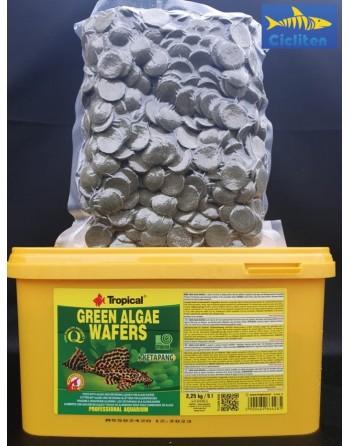 GALLETAS SPIRULINA GREEN ALGAE WAFERS 1000ml - 450gr