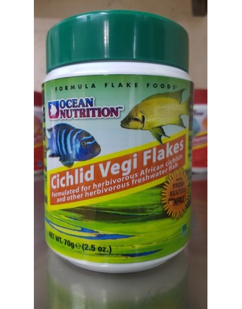 Ocean Nutrition cichlid vergi flakes 156 gr