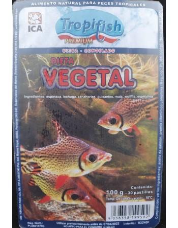Alimento vegetal con espirulina blister de 100 gr - 30...