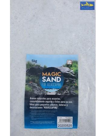 GRAVA NATURAL MAGIC SAND BLANCA 0,3-0,45 MM 2KG