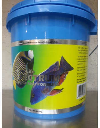 New Life Spectrum  large fish formula 2000Gr 3 mm