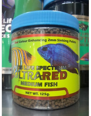 copy of New Life Spectrum  ultra red fish formula 125 gr 1mm