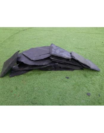 Roca pizarra negra caja 25 kilos