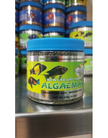 New Life Spectrum algaemax medium fish formula 2 mm 250 gr
