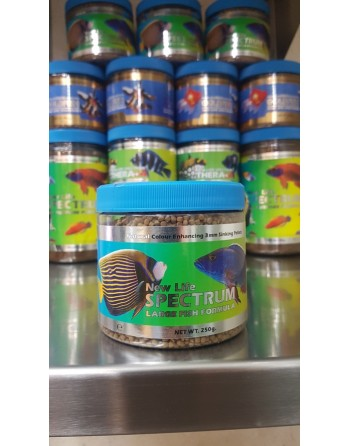 New life Spectrum large fish fórmula 3mm 250 gr