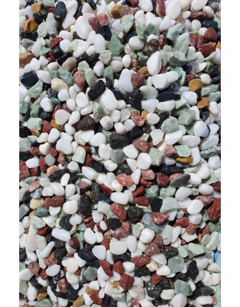 Grava Natural Multicolor 6-8mm 1kg