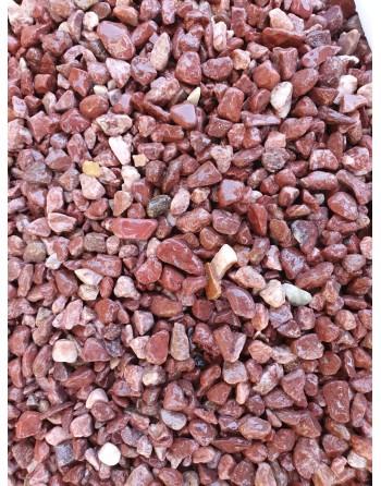 Natural Red Gravel 15-20mm 1kg