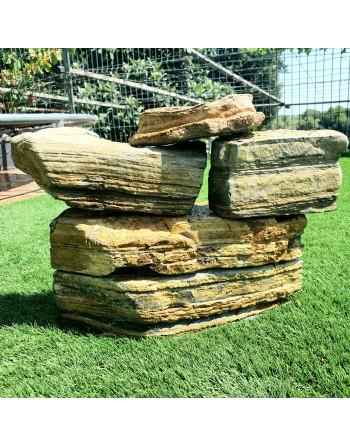 Pedra Thousand Layers 2 a 3 peças 5kg