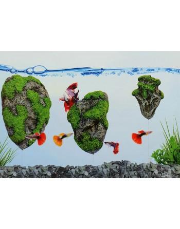 Floating Rock 14 x 9 x 7 cm