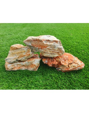 Red Strata Rock 4 to 6 pieces 5kg