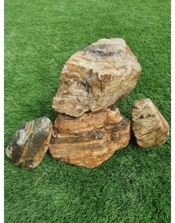 Pedra Honeycomb 3 a 4 peças 5kg