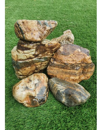 Honeycomb rock 5 to 7 pieces 10kg