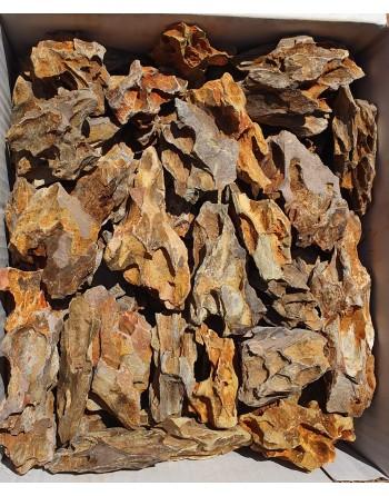 Mini pedra de dragão 4 a 7 cm Caixa 5 kg